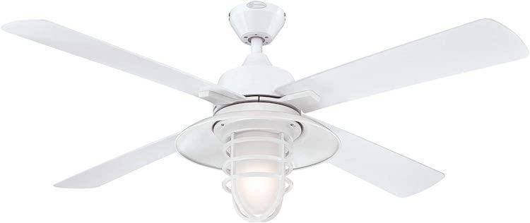 Ventilateur de plafond extérieur blanc westinghouse