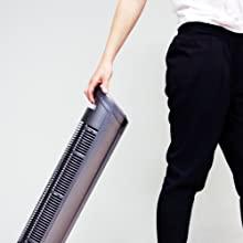 Transporter le ventilateur colonne taurus babel RC