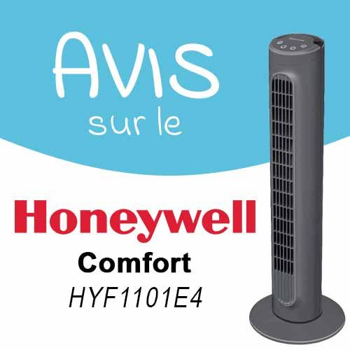 Avis sur le ventilateur colonne Honeywell HYF1101E4