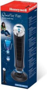 Emballage du ventilateur colonne honeywell Quietset HY254E4