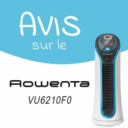 Avis sur le petit ventilateur colonne Rowenta 6210F0