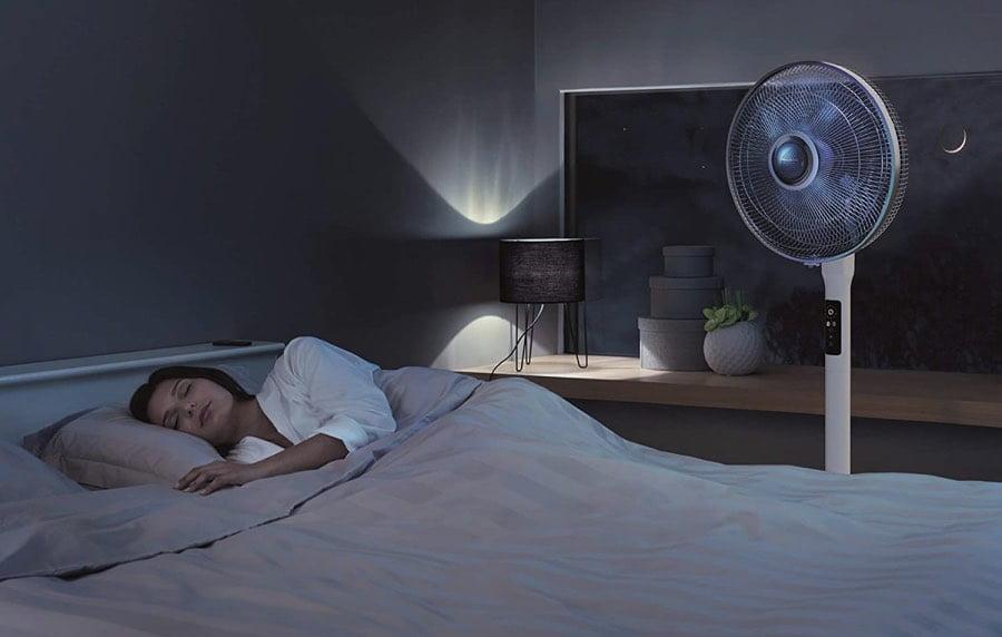 Mode silence du ventilateur sur pied VU5770F0