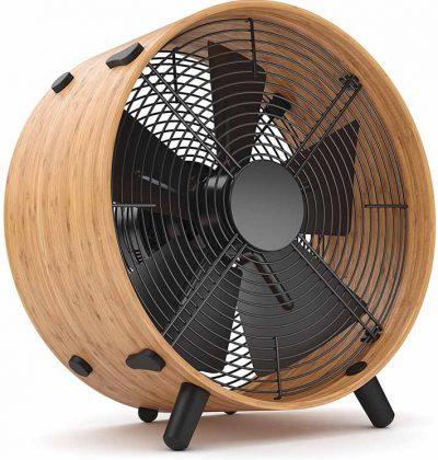 Le brasseur d'air design en bois
