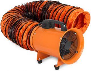 Ventilateur puissant pour les chantiers